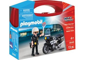 PLAYMOBIL 5648 CARRY CASE POLICE