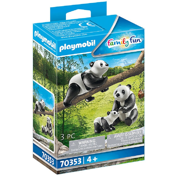 PLAYMOBIL 70353 PANDAS WITH CUB