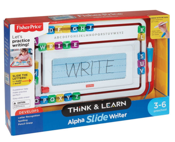 F/P THINK & LEARN ALPHA SLIDE WRITER