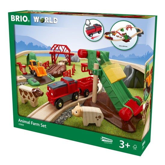 BRIO ANIMAL FARM SET 30 PCS