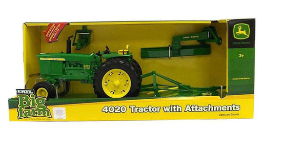JD 1:16 BIG FARM 4020 WIDE FRONT W ATTAC