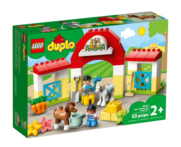 LEGO 10951 DUPLO HORSE STABLE & PONY CAR