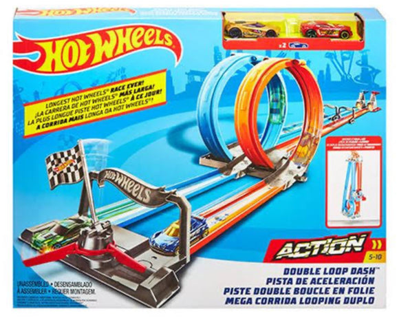 H/W DOUBLE LOOP DASH TRACK SET