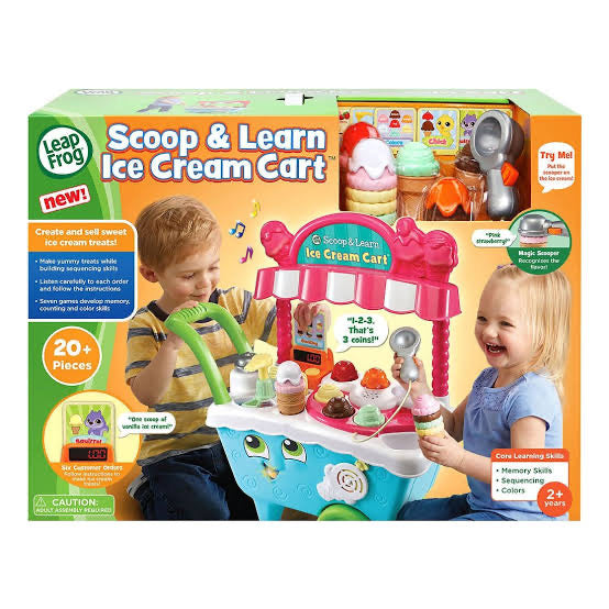 L/F SCOOP & LEARN ICE CREAM CART