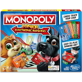 GAME MONOPOLY JUNIOR ELECTRONIC