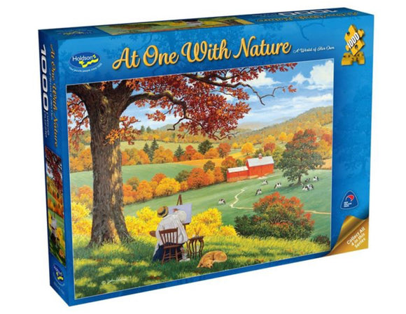 PUZZLE 1000PC A WORLD OF HER OWN