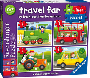 PUZZLE MY FIRST 2-3-4-5PCE TRAVEL FAR