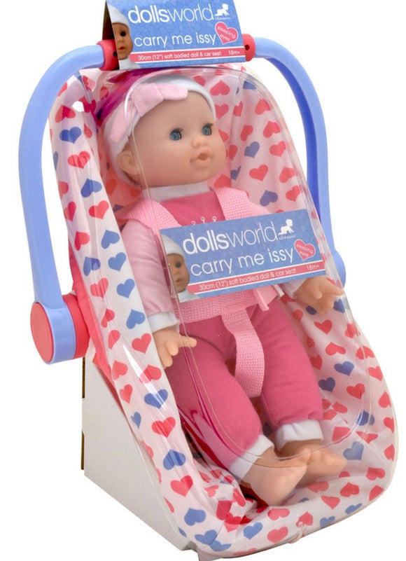 DW DOLL CAR SEAT CARRY ME ISSY 30CM