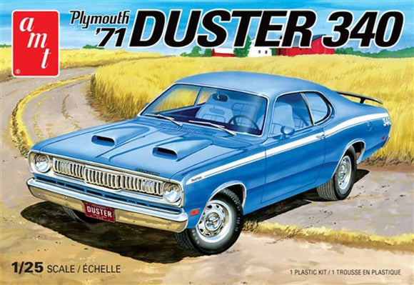 AMT 1:25 1971 PLYMOUTH DUSTER 340