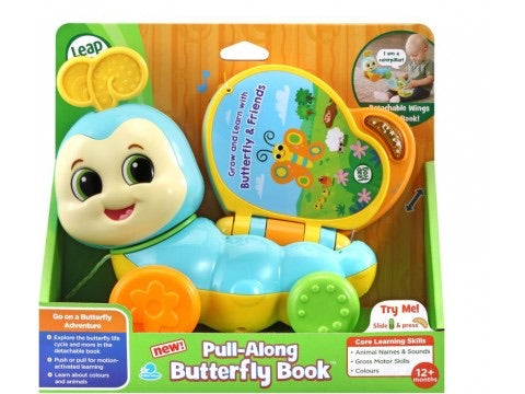 L/F PULL ALONG BUTTERFLY BOOK