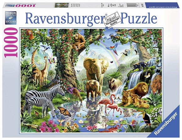 PUZZLE 1000PC ADVENTURES IN THE JUNGLE