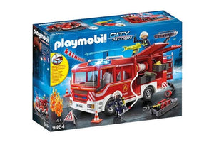 PLAYMOBIL CITY FIRE ENGINE