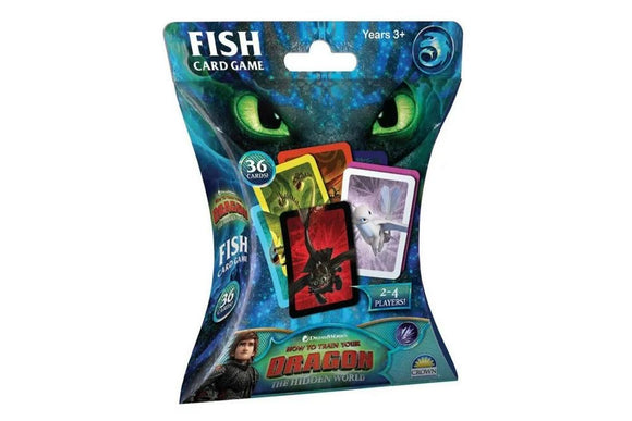 CARD GAME FISH HTTYD 3