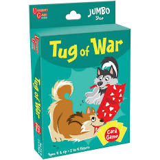 CARD GAME TUG OF WAR