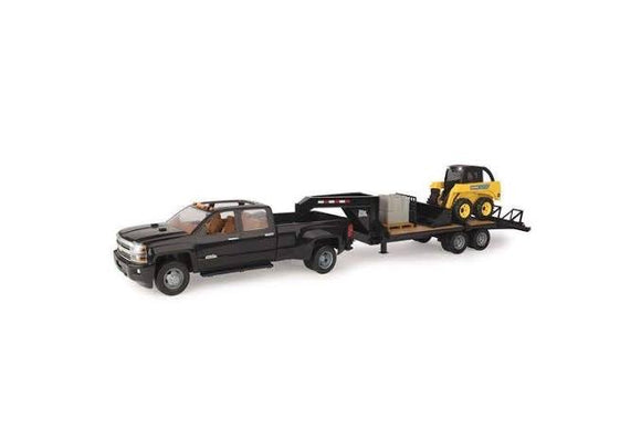 JD 1:16 SKIDSTEER, TRAILER AND TRUCK