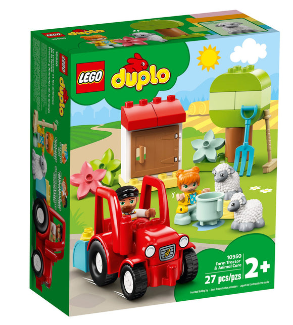 LEGO 10950 DUPLO FARM TRACTOR & ANIMAL