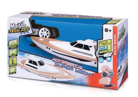 R/C MAISTO HIGH SPEED SUPER YACHT USB