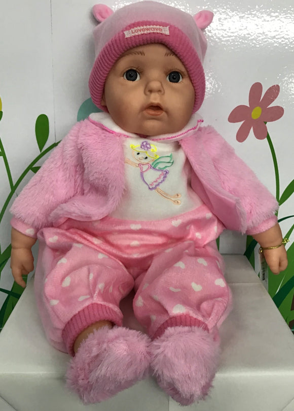 BABY DOLL MADELYN PINK