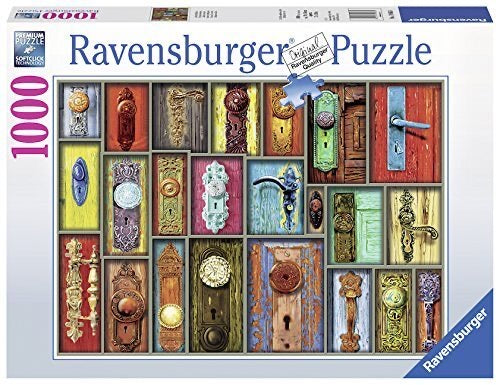 PUZZLE 1000PC ANTIQUE DOORKNOBS