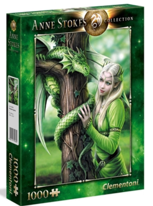 PUZZLE 1000PC ANNE STOKES KINDRED SPIRIT