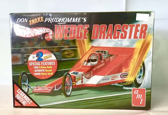 AMT 1:25 COCA COLA DON SNAKE DRAGSTER