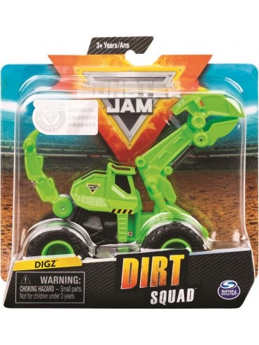 MONSTER JAM DIRT SQUAD ASSTD
