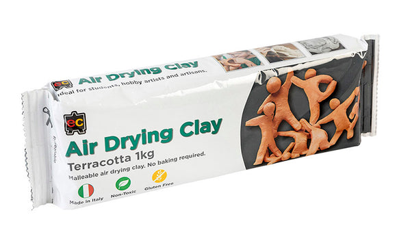 AIR DRYING CLAY 1KG TERRACOTTA