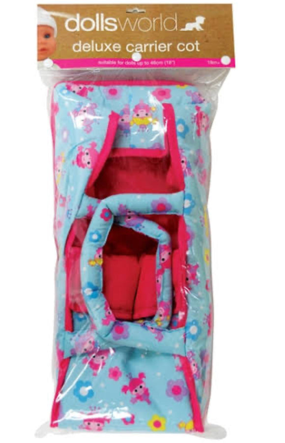 DOLLS WORLD DELUXE FABRIC BABY CARRIER