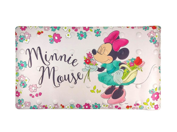 BATH MAT MINNIE FLORAL 2021