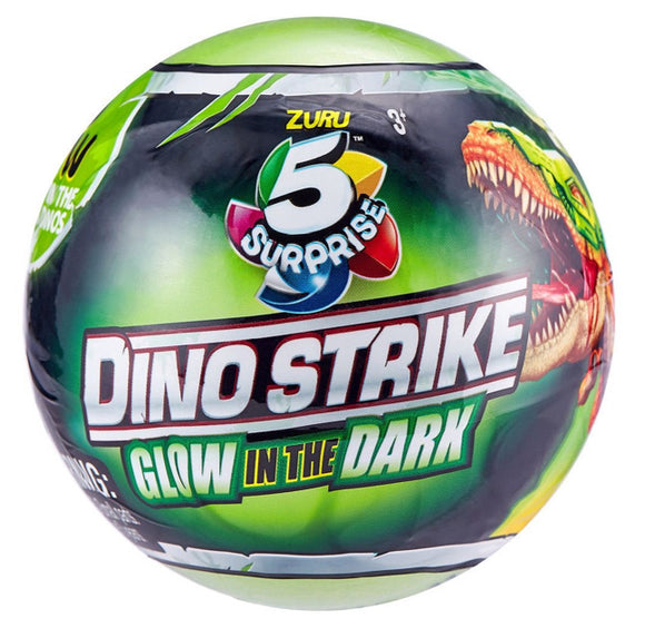 5 SURPRISE DINO STRIKE GLOW IN DARK S2
