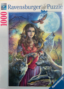 PUZZLE 1000PC PROTECTOR OF WOLVES