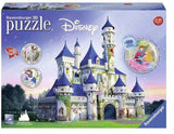 PUZZLE 216PC 3D DISNEY PRINCESSES CASTLE