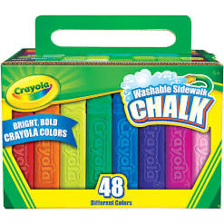 CRAYOLA CHALK 36CT SIDEWALK CHALK