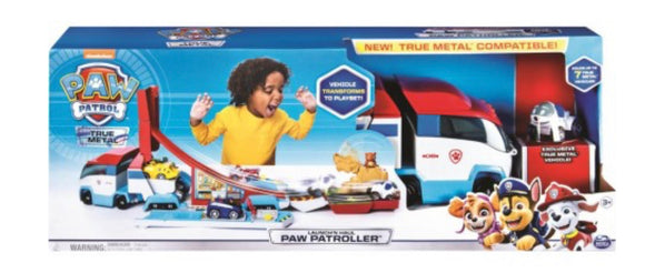 PAW PATROL DIE CAST CARRIER AND LAUNCHER