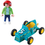 PLAYMOBIL 5382 BOY W GO KART