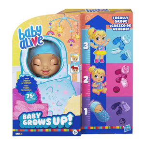 BA BABY ALIVE BABY GROWS UP HAPPY