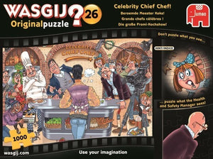 PUZZLE WASGIJ #26 ORIGIN CELEBRITY CHEF
