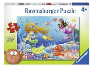 PUZZLE 60PC MERMAID TALES