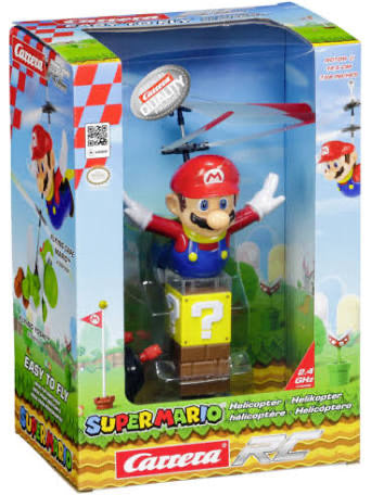 R/C HELICOPTER SUPER MARIO FLYING MARIO