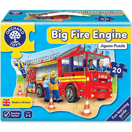 ORCHARD PUZZLE BIG FIRE ENGINE