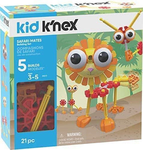 KNEX KID KNEX SAFARI MATES BUILDING SET
