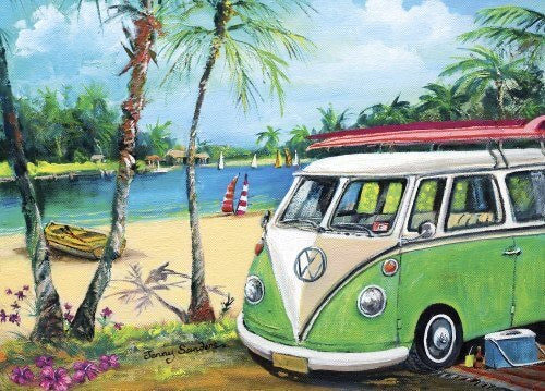 PUZZLE 1000PC BLUE OPAL PEPPERMINT KOMBI