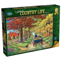 PUZZLE 1000PC COUNTRY LIFE SHADY LOVE