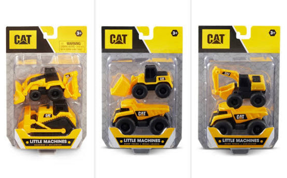 CAT LITTLE MACHINES 2 PACK ASTD