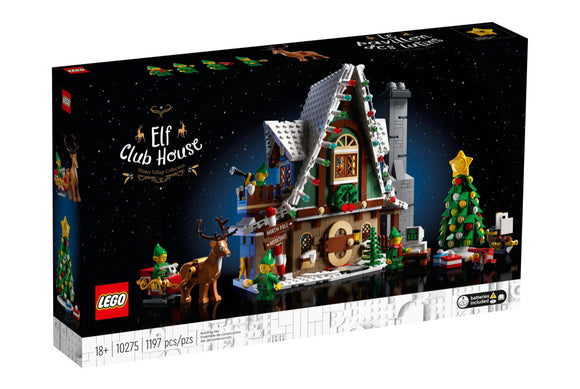 LEGO 10275 EXPERT ELF CLUB HOUSE