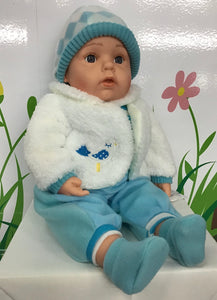 DOLL COTTON CANDY ASHLEY WHITE COAT