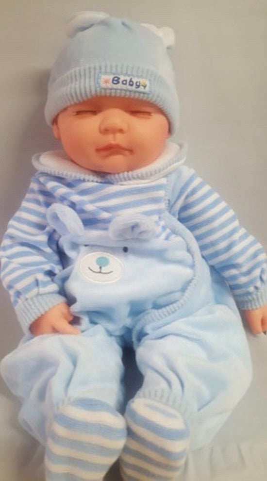 BABY DOLL JACKSON BLUE JUMPSUIT
