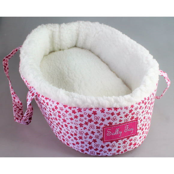 SALLY FAY DOLLS CARRY BASKET