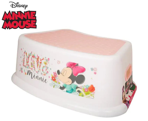 STEP STOOL MINNIE MOUSE FLORA