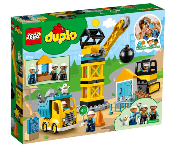 LEGO 10932 DUPLO WRECING BALL DEMOLITION